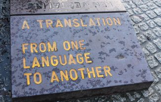 Translation from One Language to Another