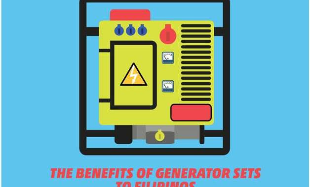 The Benefits of Generator Sets to Filipinos