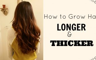 Ways Of Growing Thicker Hair